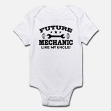 Future Mechanic Like My Uncle Infant Bodysuit