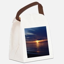 Millway Beach Sunset Canvas Lunch Bag