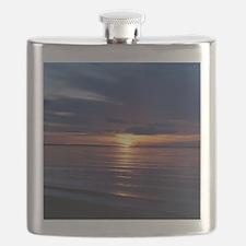 Millway Beach Sunset Flask