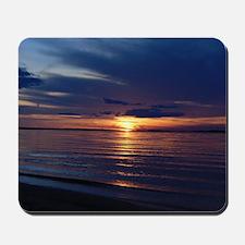 Millway Beach Sunset Mousepad