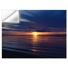Millway Beach Sunset Wall Decal