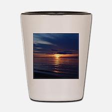Millway Beach Sunset Shot Glass