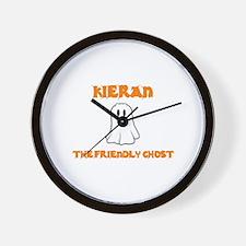 Kieran the Friendly Ghost Wall Clock
