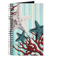 romantic seashells nautical beach Journal