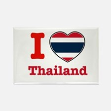 I love Thailand Rectangle Magnet