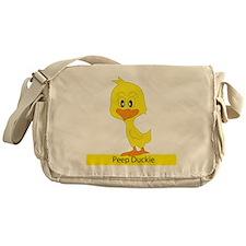 Peep Duckie Messenger Bag