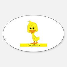Peep Duckie Decal