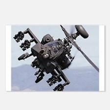 Apache Attack Helicopter Postcards (Package of 8)