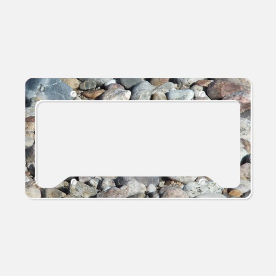 Butterfly on the Rocks License Plate Holder