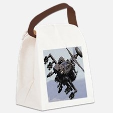 AH-64A/D, the Apache Attack Helic Canvas Lunch Bag