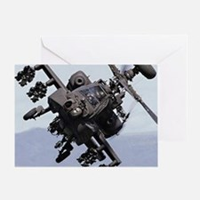 AH-64A/D, the Apache Attack Helicopt Greeting Card