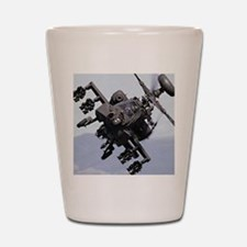 AH-64A/D, the Apache Attack Helicopter Shot Glass