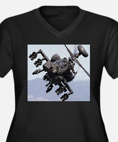 AH-64A/D, the Apache Attack Heli Plus Size T-Shirt