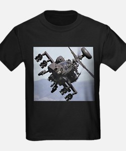 AH-64A/D, the Apache Attack Helicopter T-Shirt