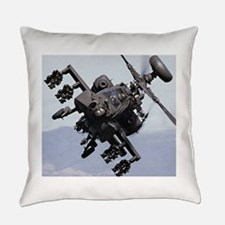 AH-64A/D, the Apache Attack Helico Everyday Pillow