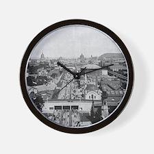 Columbian Exposition Midway Plaisance Wall Clock