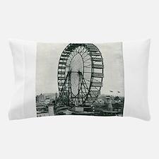 Columbian Exposition Ferris Wheel Pillow Case