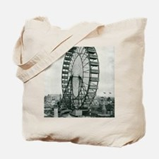 Columbian Exposition Ferris Wheel Tote Bag