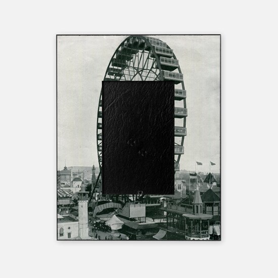 Columbian Exposition Ferris Wheel Picture Frame