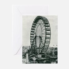 Columbian Exposition Ferris Wheel Greeting Cards