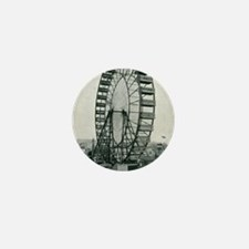 Columbian Exposition Ferris Wheel Mini Button