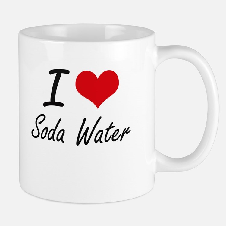 I love Soda Water Mugs