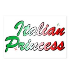 Italian Princess Postcards (Package of 8)