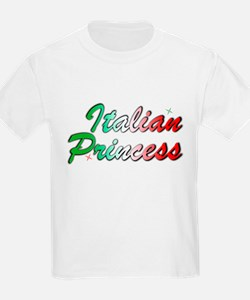 Italian Princess Kids T-Shirt