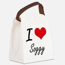 I love Soggy Canvas Lunch Bag