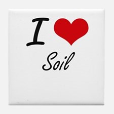 I love Soil Tile Coaster