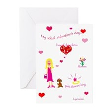 k-go cards Greeting Cards (Pk of 10)
