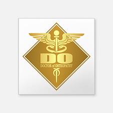 DO gold diamond Sticker