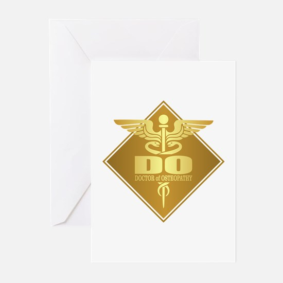 DO gold diamond Greeting Cards