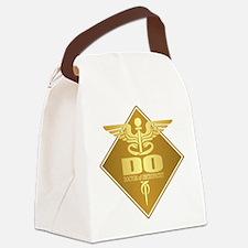 DO gold diamond Canvas Lunch Bag