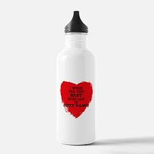 I Work For the Best Ec Water Bottle