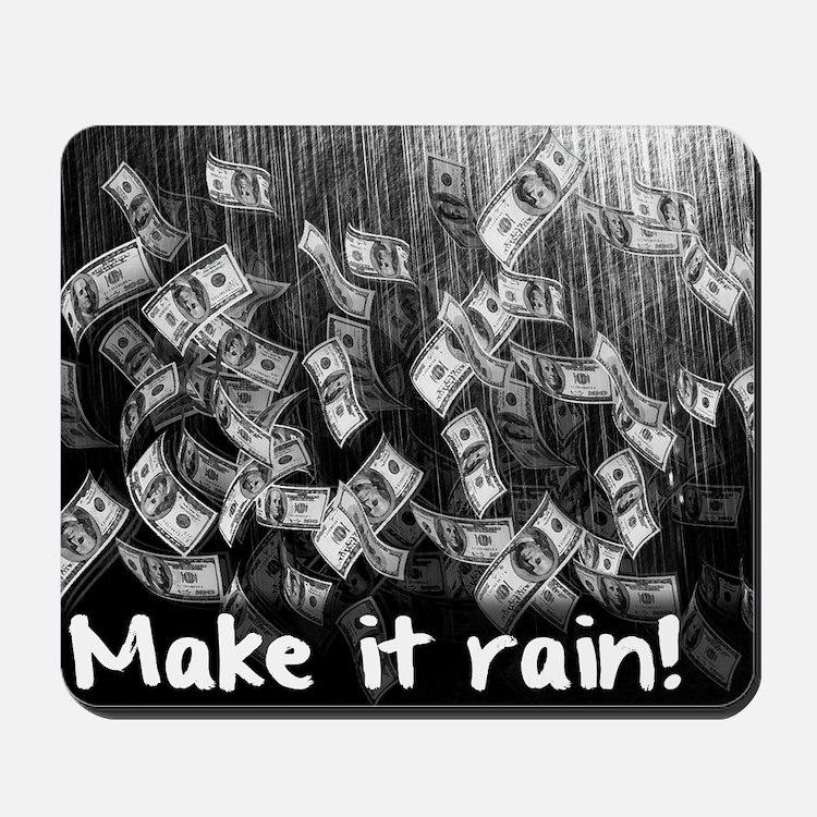 Make It Rain Cash Money Mousepad