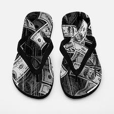 Make It Rain Cash Money Flip Flops