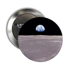 Apollo 11 Space gift Button