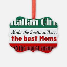 Italian Girls Ornament
