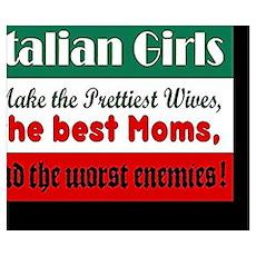 Italian Girls Poster