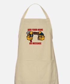 PERSONALIZED Tool Belt Graphic Apron