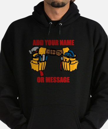 PERSONALIZED Tool Belt Graphic Hoody