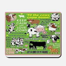 Cows Mousepad