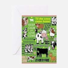 Cows Card Greeting Cards
