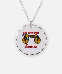 PERSONALIZED Tool Belt Graph Necklace