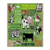 Cow Fleece Blankets