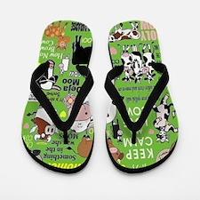 Cows Flip Flops