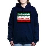 Italian Hooded Sweatshirt
