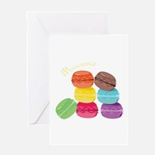 Macaron Delight Greeting Cards