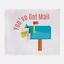 Youve Got Mail Throw Blanket